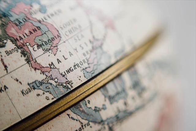地球儀,地図