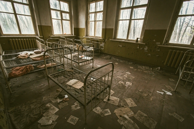 廃墟,病院